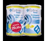 Farline Colágeno + Magnesio + Ac. Hialurónico Sabor Limón 2 x 400 gr